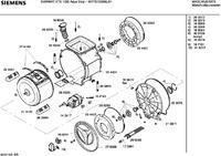 Siemens Siwamat WXTS1230/02 wymiana łożysk bębna