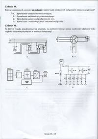 Druki testów Nowy Egzamin kwalifikacyjny zawod elektryk,technik elektryk