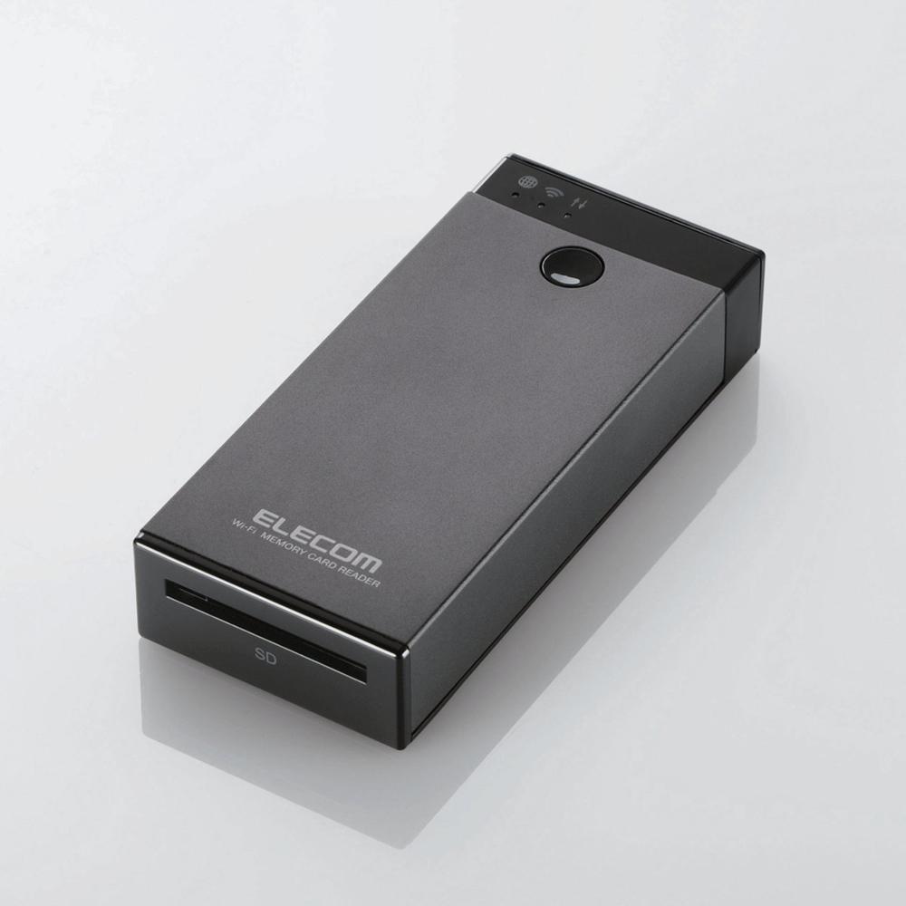 Elecom MR-WI02BK - bezprzewodowy czytnik kart pami�ci SD z wbudowan� pami�ci�