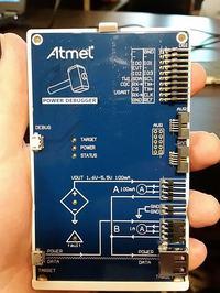 Atmel Power Debugger - programator z opcją pomiaru prądu
