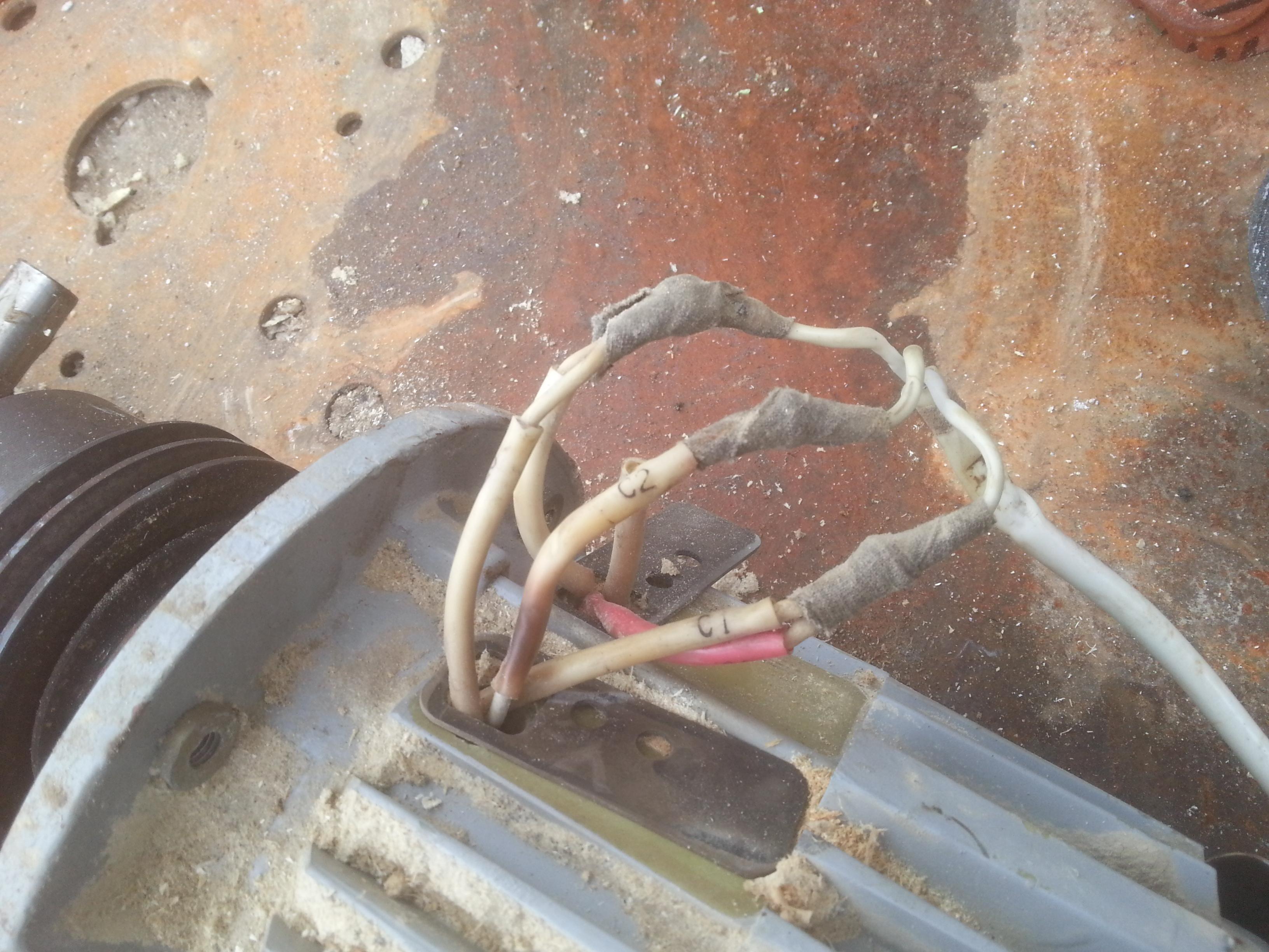Wymiana kondensatora - Silnik jednofazowy