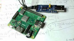 Raspberry pi 3 A+ bare metal - mini uart