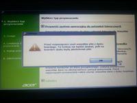 Ustawienia fabryczne - Acer v3, Win7, przywracanie ust.fabrycznych