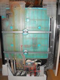 Zmywarka Bosch,Siemens SF64M350 stojąca woda, nie kończy programu