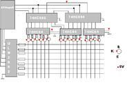 [ATMega8][Bascom] linijka diodowa 100 LED