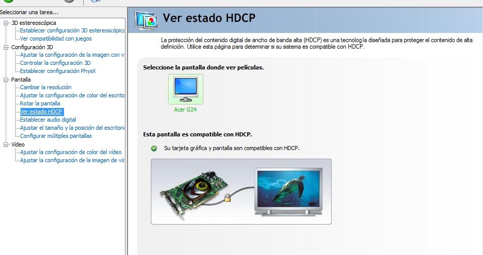 Po��czenie dekodera telewizji kablowej z monitorem LG Flatron W3000H