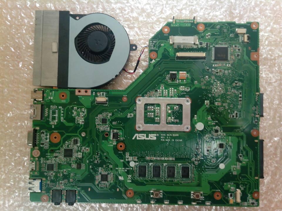 Zalany laptop Asus X54C. Co zrobic dalej?