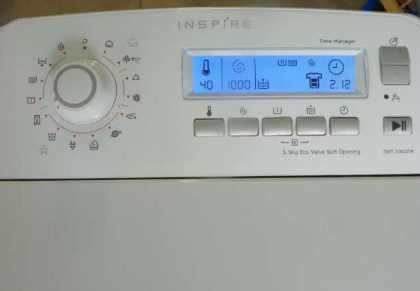 [Kupi�] Wy�wietlacz do pralki Elektrolux EWT 10620 w
