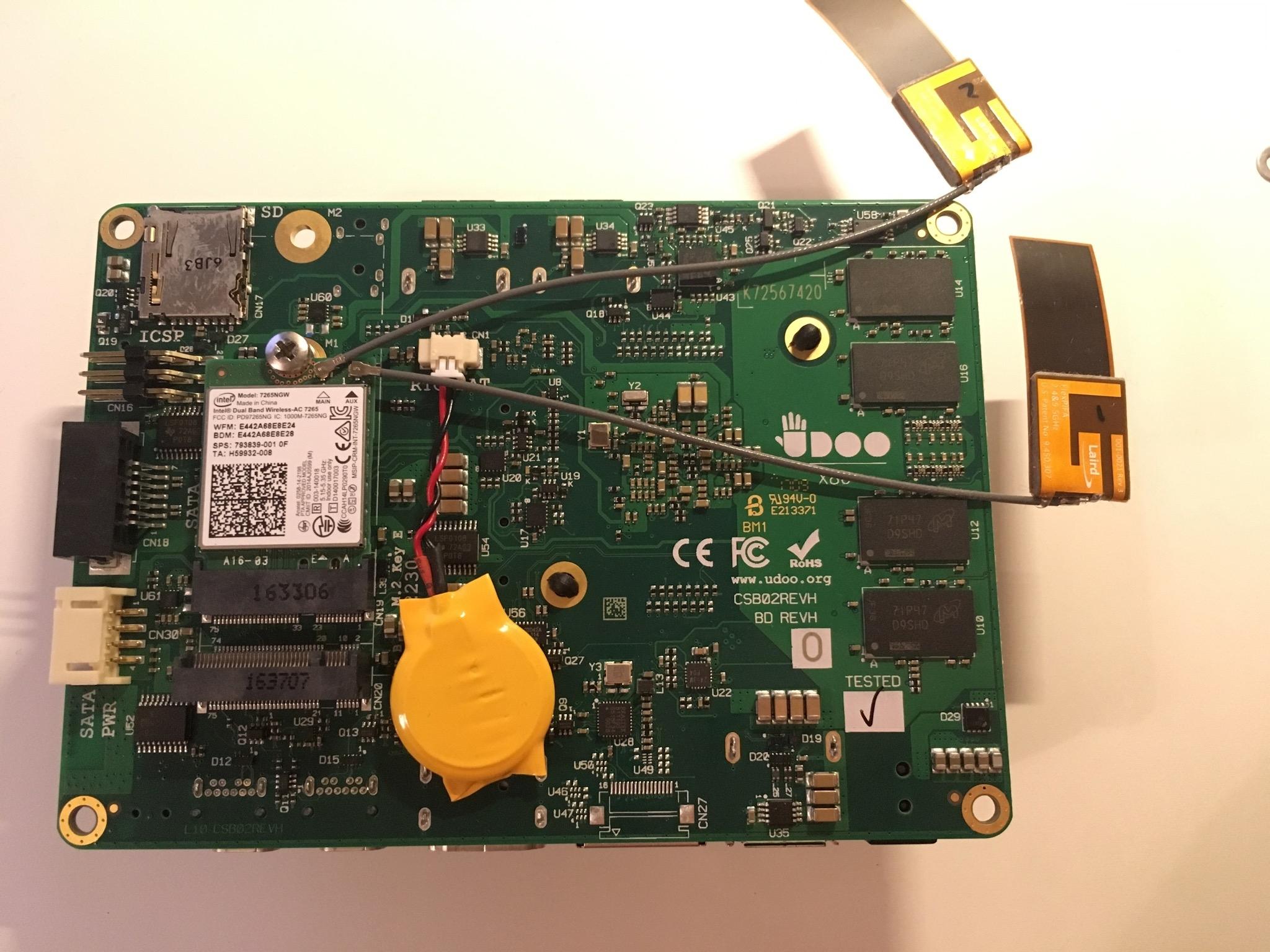 Sprzedam] UDOO x86 Advanced Plus - elektroda pl