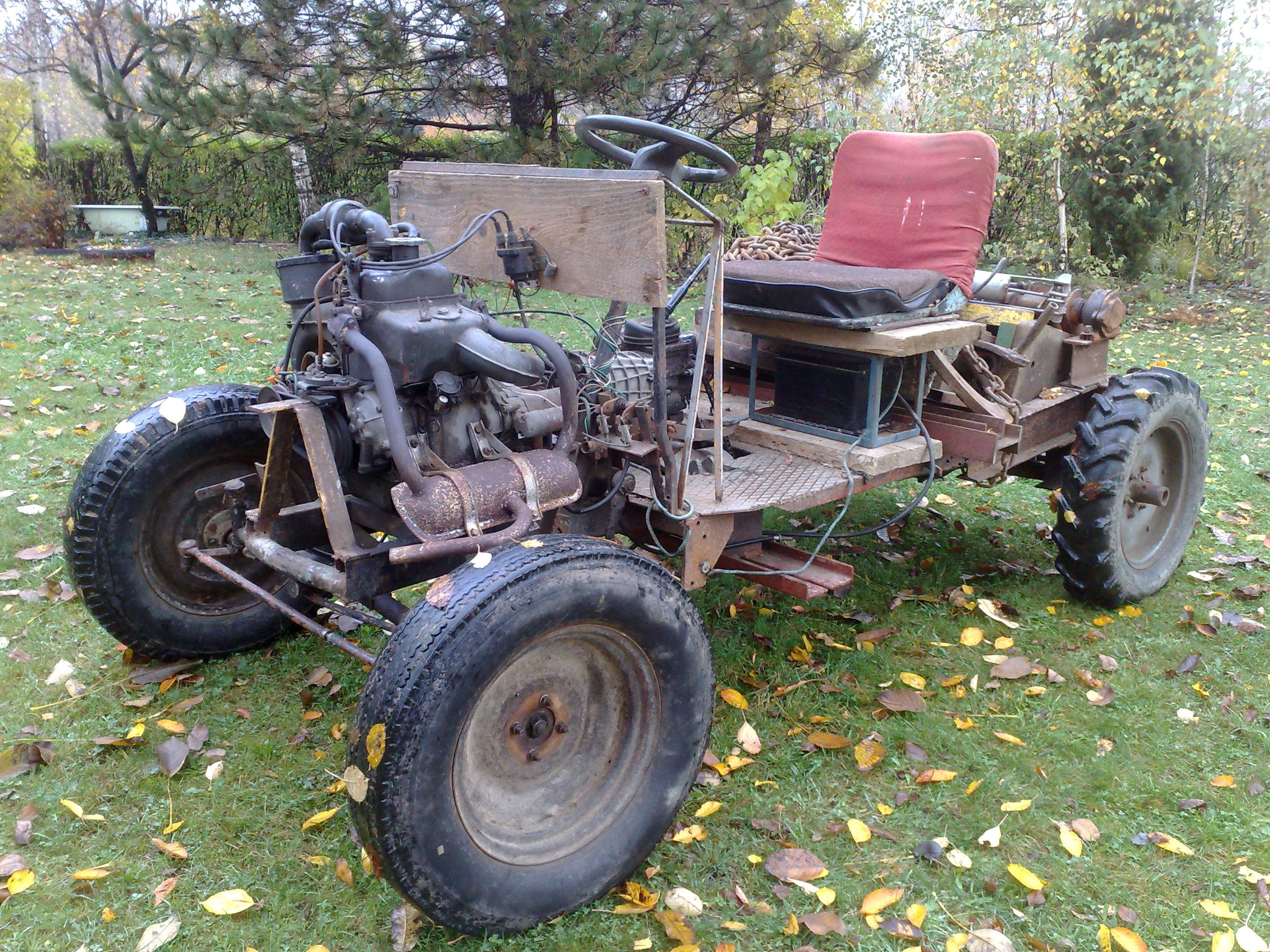 Budowa traktora sam - Nie wiem jak zmienic przelozenie.