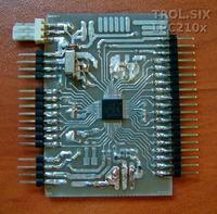 Płytka na start z ARM LPC2101 LPC2102 LPC2103