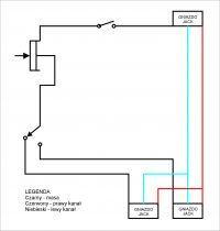 DIY Switch Audio - Brzęczące kanały, brak regulacji głośności.