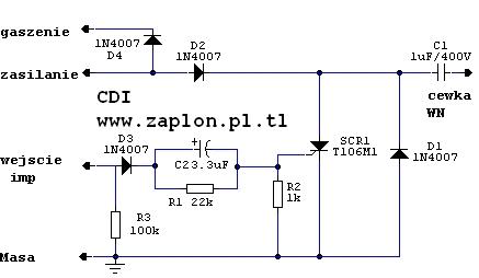Poprawność schematu modułu do Charta