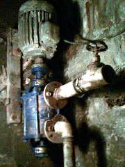 hydrofor , problem - pompa zapowietrza się
