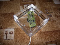 Spectral clock - Propeller Clock