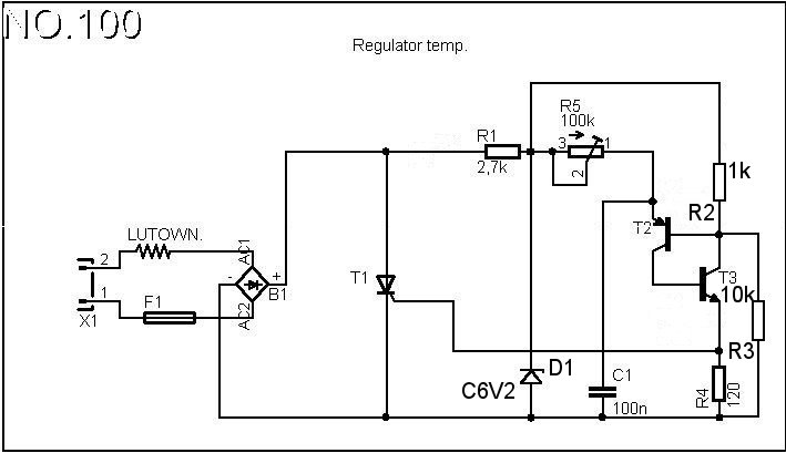 Lutownica DIC SS-8100 - brak elementu elektronicznego