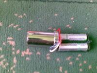 Laserowy pointer 225mW własnej konstrukcji.