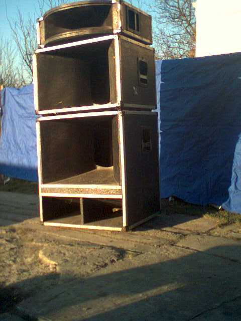 3-drożny sound system na 4 głośnikach eminence kappa i asd