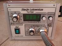 Stacja lutownicza na gorące powietrze (Hot Air) z chwytakiem