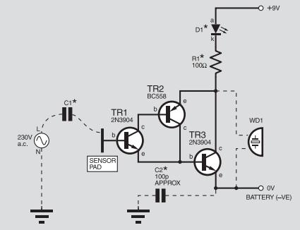 Detektor przewodów z napięciem 230 V