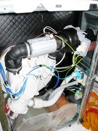zmywarka whirlpool agd4545, błąd f7