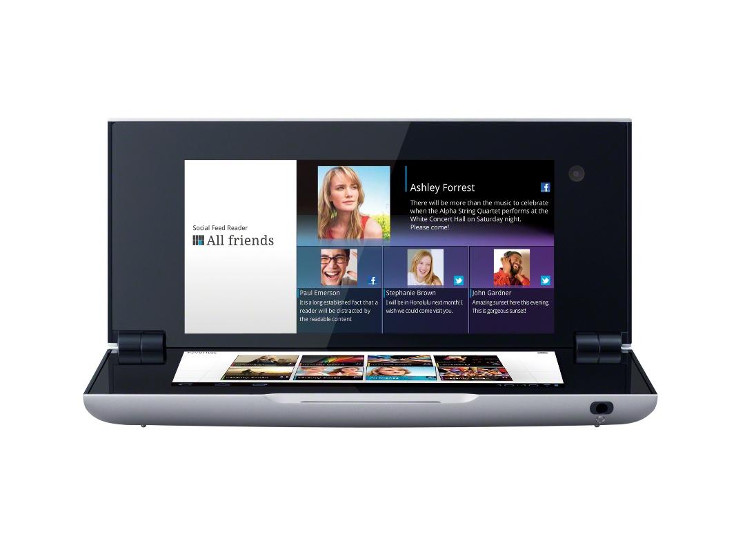 SONY Tablet P - dwuekranowy tablet wkr�tce w wariancie ekonomicznym Wi-Fi Only