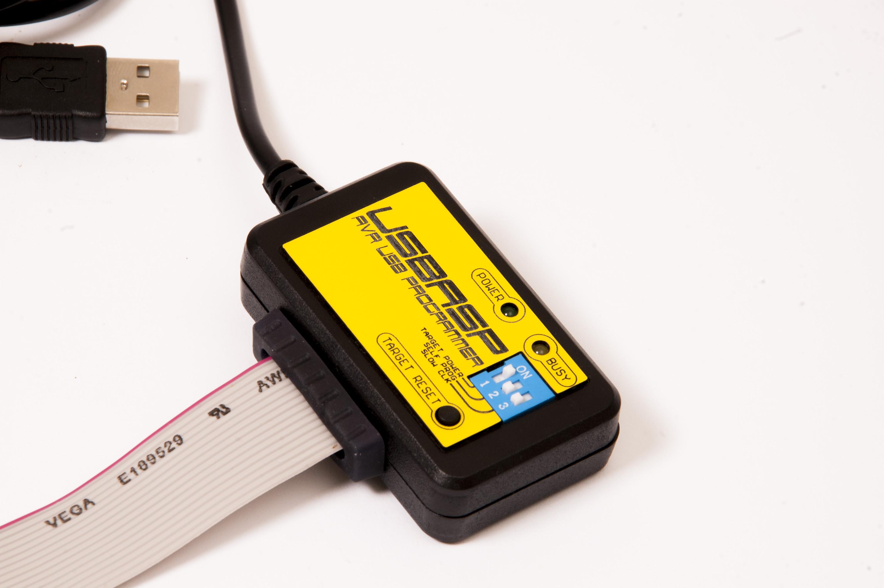 Programator AVR USB USBASP z kilkoma ulepszeniami