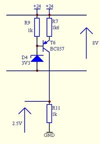 Odwrócony step-down - źródło napięciowe - na UC3843