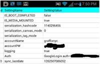 S-Memo przechowuje dane dostępowe do kont użytkowników zrootowanych urządzeń