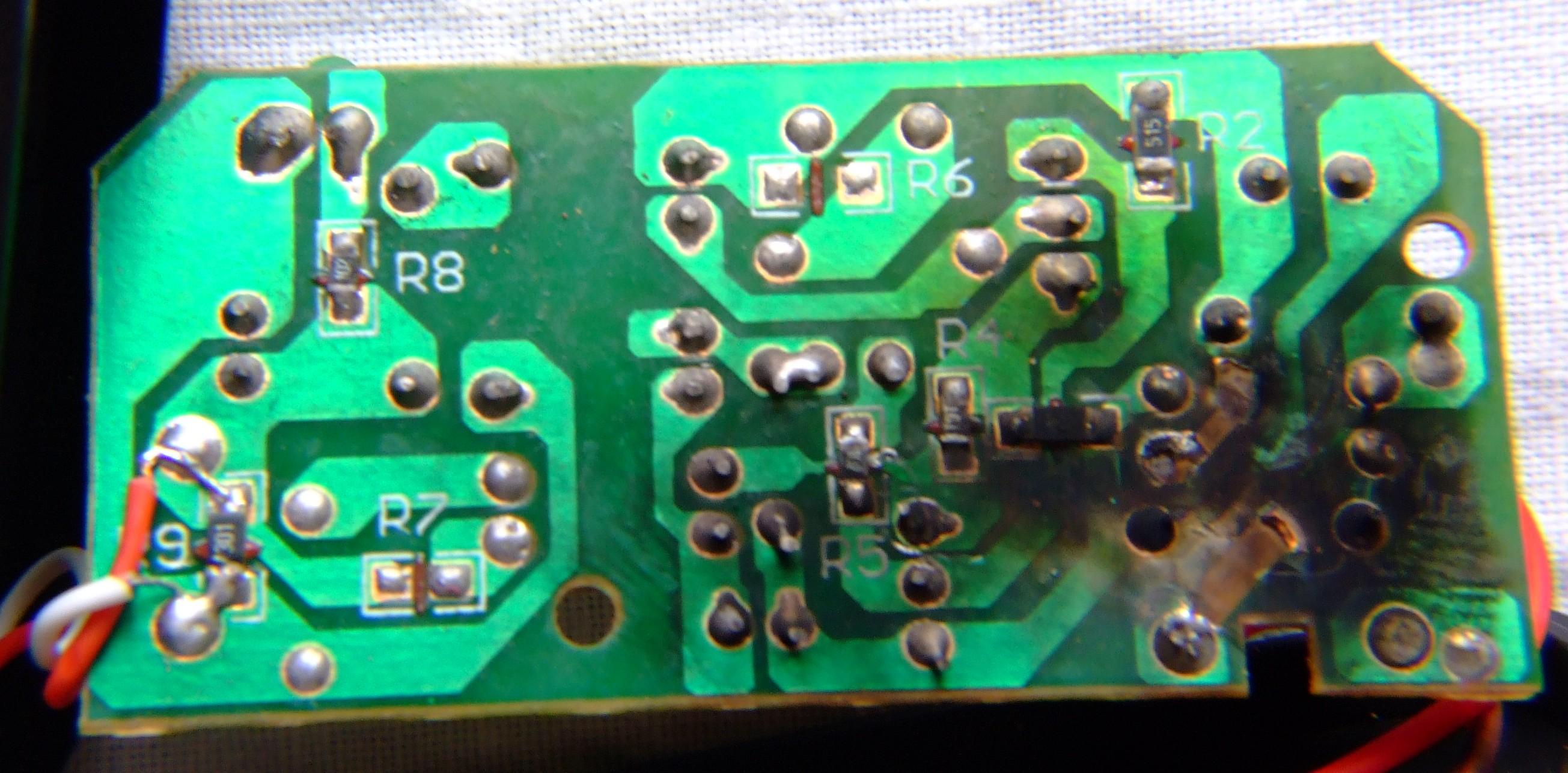 Naprawa ładowarki do telefonu SE firmy Blue Star - elektroda.