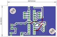 Atmega8 - Sterownik L293 i palec na masie