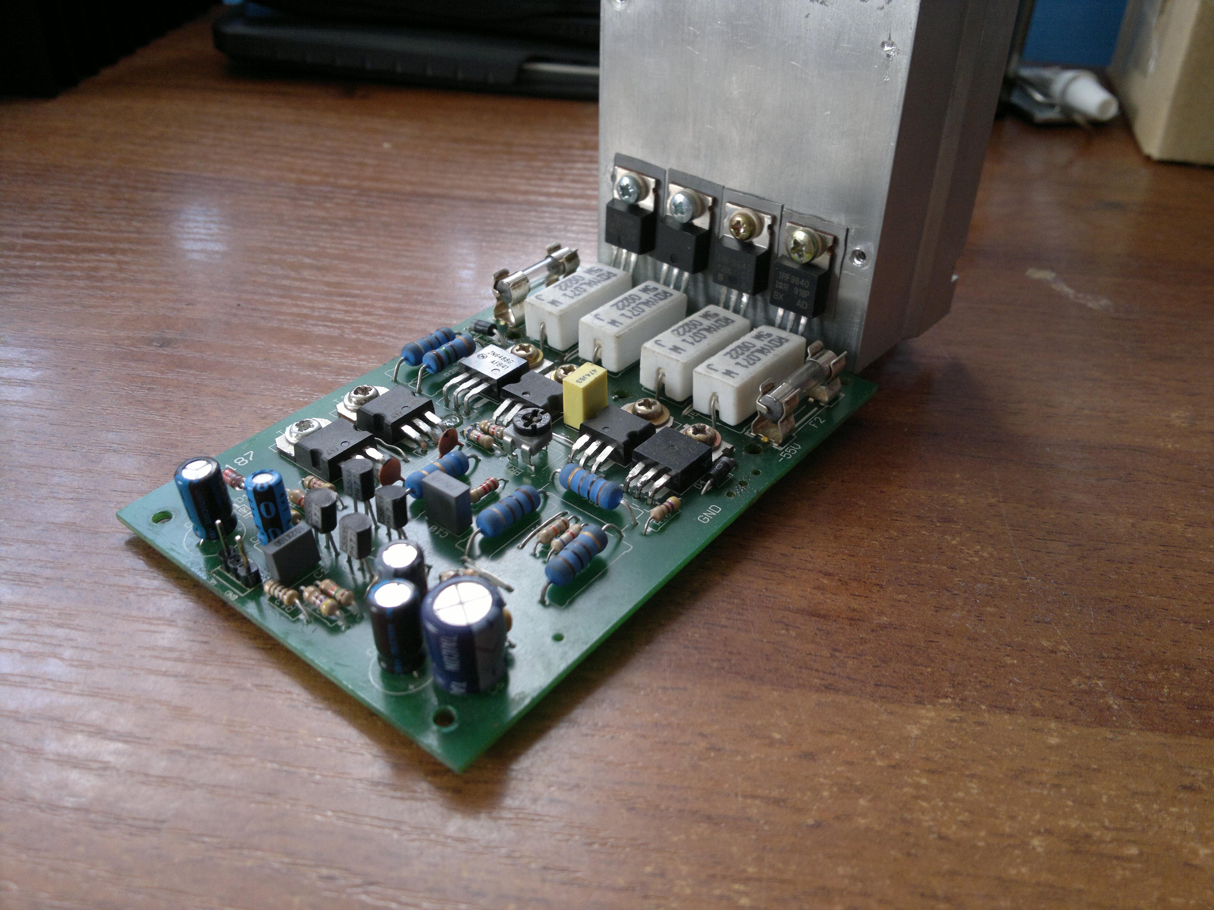 [Sprzedam] Ko�c�wka mocy MOSFET 200W AVT5187 2 sztuki