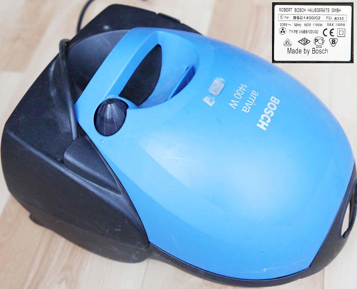 Bosch Arriva 1400W BSG1400/02  FD8310 - zwijacz kabla nie dzia�a (du�e zdj�cia)