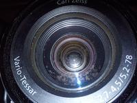 Sony Cyber Shot H-50 - Plamy w obiektywie