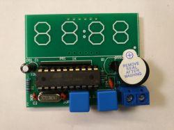 Prosty, ale bardzo popularny zegar DIY C51 - Opis / Test / Recenzja