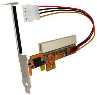 Adapter PCI Expres 1 na zwyk�e PCI.