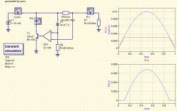 Ogranicznik prądu w układzie zródła prądu zmiennego