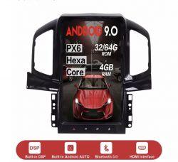 Chevrolet Captiva-Wymiana fabrycznego ekranu nawigacji i radia na system android