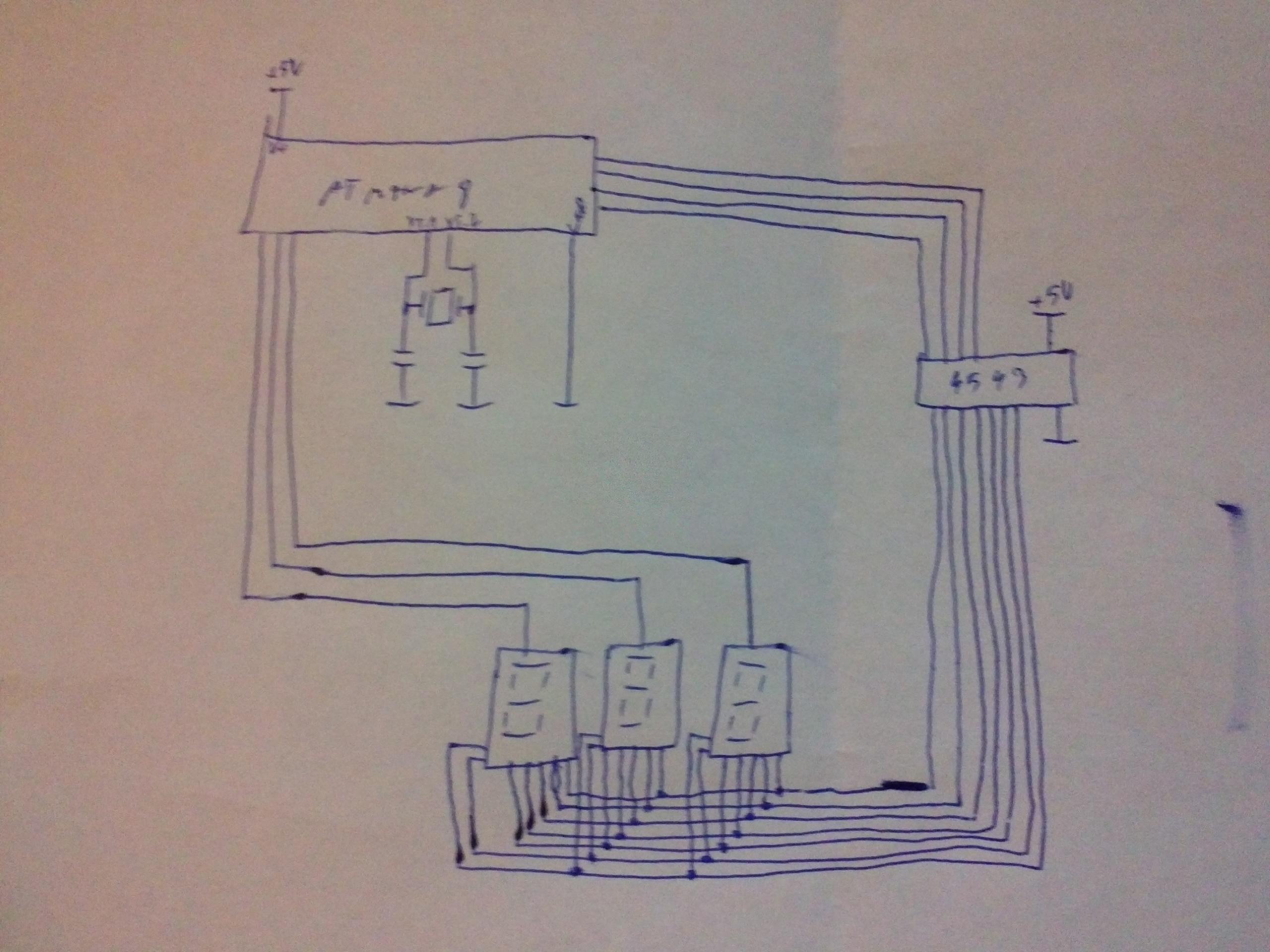 AtMega8 [C] - Multipleksowanie wy�wietlaczy LED