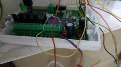 Podłączenie nadajnika Elmes 2000 GSM do Risco GTI.