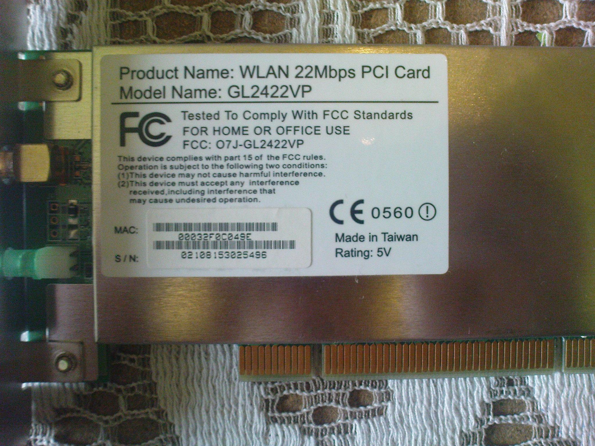 GL2422VP WLAN WINDOWS 7 X64 TREIBER