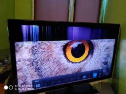 "TV Samsung 40"" UE40D5500- Poziome paski na ekranie"