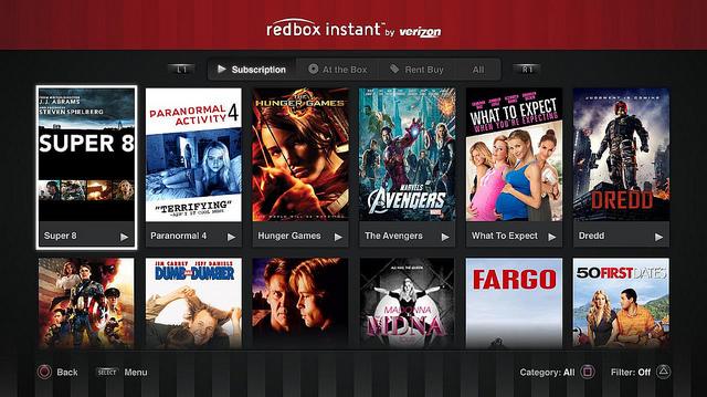 Us�uga Redbox Instant od dzisiaj b�dzie dost�pna r�wnie� na PS3