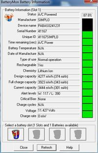 lenovo y480-10.8V 48Wh,4400mA - Prośba o wsad baterii lub wskazówki