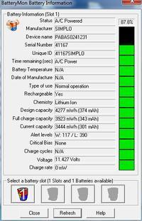 lenovo y480-10.8V 48Wh,4400mA - Pro�ba o wsad baterii lub wskaz�wki