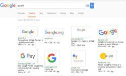 Dziwny wygląd Google Grafika