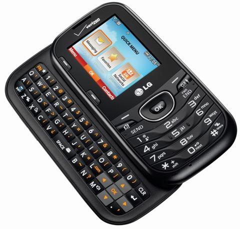 LG Cosmos 3 - prosty telefon kom�rkowy z wysuwan� klawiatur� QWERTY