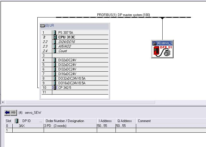 Modu� Profibus CP 342-5 - konfiguracja