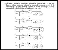 Układy pomiarowe, diody, oporniki