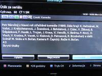 Samsung UE40ES5700 - EPG, czeskie znaki diakrytyczne, przekłamania
